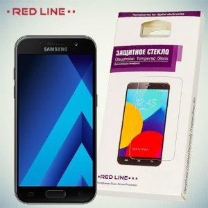 RedLine Закаленное защитное стекло для Samsung Galaxy A5 2017 SM-A520F