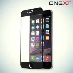 OneXT Закругленное защитное 3D стекло для iPhone 6 Plus / 6s Plus на весь экран - Черный