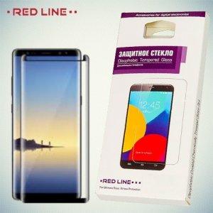 OneXT Закругленное защитное 3D стекло для Samsung Galaxy Note 8 на весь экран - Черный