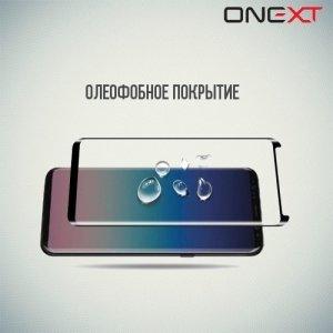 OneXT Закругленное защитное 3D стекло для Samsung Galaxy S9 Plus на весь экран - Черный