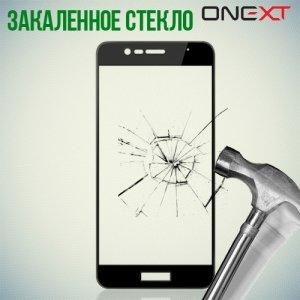 OneXT Защитное стекло для Asus ZenFone 3 Max ZC520TL на весь экран - Черный