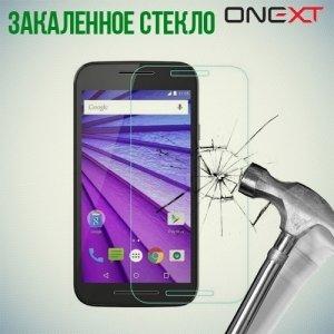 OneXT Закаленное защитное стекло для Motorola Moto G Gen.3