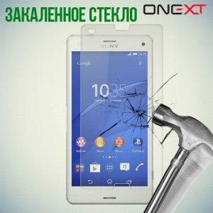 OneXT Закаленное защитное стекло для Sony Xperia Z3 Compact D5803