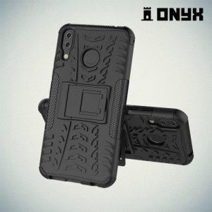 ONYX Противоударный бронированный чехол для Asus Zenfone 5Z ZS620KL / 5 ZE620KL - Черный
