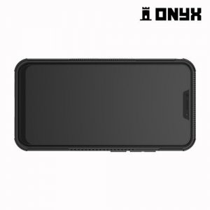 ONYX Противоударный бронированный чехол для Asus ZenFone 5Z ZS620KL - Черный