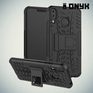 ONYX Противоударный бронированный чехол для Asus Zenfone Max Pro M2 ZB631KL - Черный