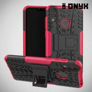 ONYX Противоударный бронированный чехол для Huawei Honor 8C - Розовый