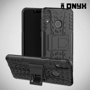 ONYX Противоударный бронированный чехол для Huawei Honor 8C - Черный
