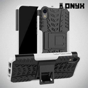 ONYX Противоударный бронированный чехол для Huawei Honor 8S / Y5 2019 - Белый