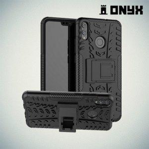 ONYX Противоударный бронированный чехол для Huawei Honor 8X - Черный