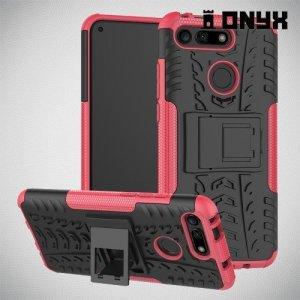 ONYX Противоударный бронированный чехол для Huawei Honor View 20 (V20) - Розовый