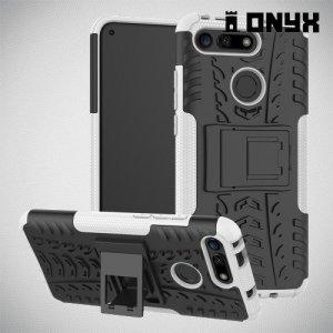 ONYX Противоударный бронированный чехол для Huawei Honor View 20 (V20) - Белый