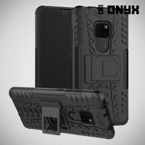 ONYX Противоударный бронированный чехол для Huawei Mate 20 - Черный