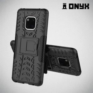 ONYX Противоударный бронированный чехол для Huawei Mate 20 Pro - Черный