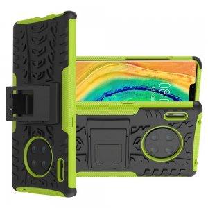ONYX Противоударный бронированный чехол для Huawei Mate 30 Pro - Зеленый / Черный