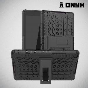 ONYX Противоударный бронированный чехол для Huawei MediaPad M5 Lite 8 - Черный