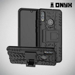 ONYX Противоударный бронированный чехол для Huawei P Smart 2019 - Черный