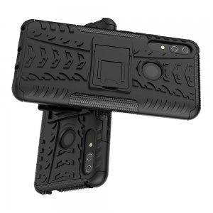 ONYX Противоударный бронированный чехол для Huawei P Smart Z / honor 9x - Черный