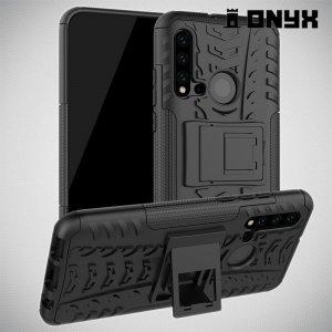 ONYX Противоударный бронированный чехол для Huawei P20 lite (2019) / nova 5i - Черный