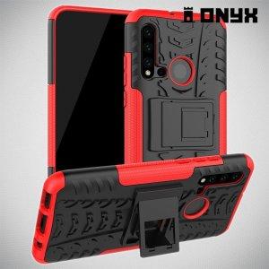 ONYX Противоударный бронированный чехол для Huawei P20 lite (2019) / nova 5i - Красный