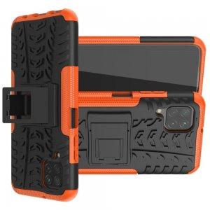 ONYX Противоударный бронированный чехол для Huawei P40 Lite - Оранжевый