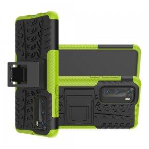 ONYX Противоударный бронированный чехол для Huawei P40 - Зеленый / Черный