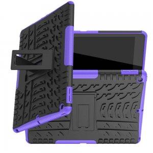 ONYX Противоударный бронированный чехол для iPad 10.2 2019 - Фиолетовый