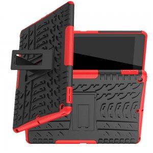 ONYX Противоударный бронированный чехол для iPad 10.2 2019 - Красный