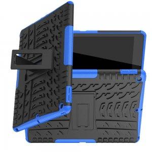 ONYX Противоударный бронированный чехол для iPad 10.2 2019 - Синий