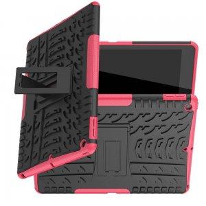 ONYX Противоударный бронированный чехол для iPad 10.2 2019 - Светло-Розовый