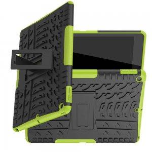 ONYX Противоударный бронированный чехол для iPad 10.2 2019 - Зеленый