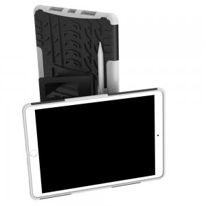 ONYX Противоударный бронированный чехол для iPad Air 10.5 (2019) - Белый