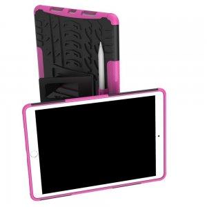 ONYX Противоударный бронированный чехол для iPad Air 10.5 (2019) - Ярко-Розовый