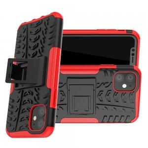 ONYX Противоударный бронированный чехол для iPhone 11 - Красный