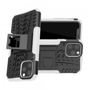 ONYX Противоударный бронированный чехол для iPhone 11 Pro - Белый