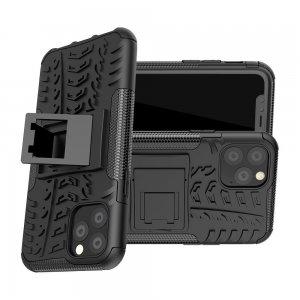 ONYX Противоударный бронированный чехол для iPhone 11 Pro - Черный