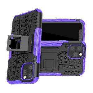 ONYX Противоударный бронированный чехол для iPhone 11 Pro - Фиолетовый