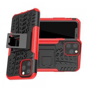 ONYX Противоударный бронированный чехол для iPhone 11 Pro - Красный