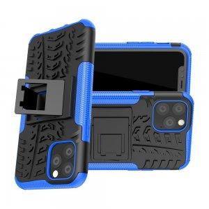 ONYX Противоударный бронированный чехол для iPhone 11 Pro - Синий