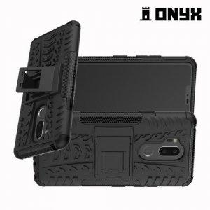 ONYX Противоударный бронированный чехол для LG G7 ThinQ - Черный