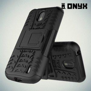 ONYX Противоударный бронированный чехол для Nokia 1 - Черный