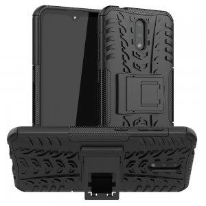ONYX Противоударный бронированный чехол для Nokia 2.3 - Черный