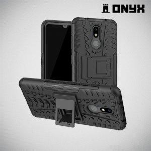 ONYX Противоударный бронированный чехол для Nokia 3.2 - Черный