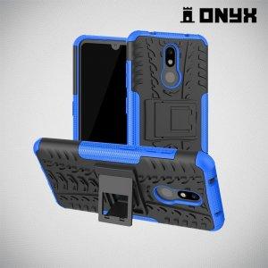 ONYX Противоударный бронированный чехол для Nokia 3.2 - Синий