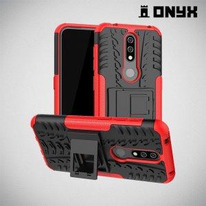 ONYX Противоударный бронированный чехол для Nokia 4.2 - Красный