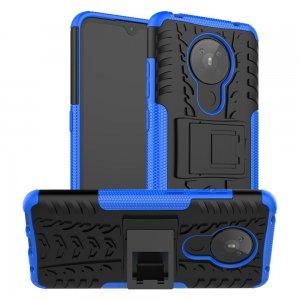ONYX Противоударный бронированный чехол для Nokia 5.3 - Синий