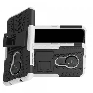 ONYX Противоударный бронированный чехол для Nokia 6.2 / Nokia 7.2 - Белый