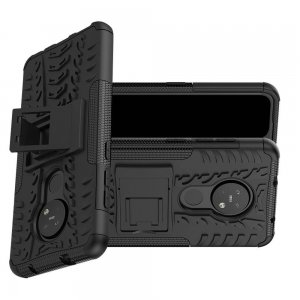 ONYX Противоударный бронированный чехол для Nokia 6.2 / Nokia 7.2 - Черный