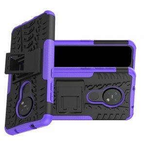 ONYX Противоударный бронированный чехол для Nokia 6.2 / Nokia 7.2 - Фиолетовый