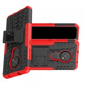 ONYX Противоударный бронированный чехол для Nokia 6.2 / Nokia 7.2 - Красный